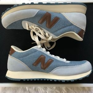 New Balance 501 Chambray Blue Color.  NWOB. Size 8